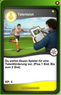 Talentslotkarte