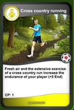 Cross country card