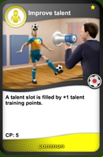 Improve talent common