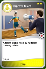 Improve talent rare card