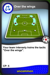 Over the wings card