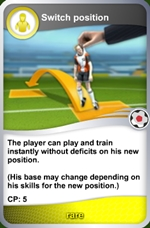 Switch position card