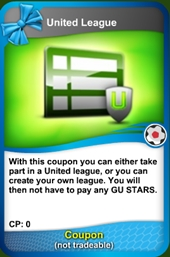 Serie united coupon