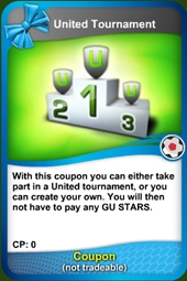 Torneo united coupon