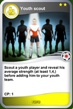Youth scout rare card