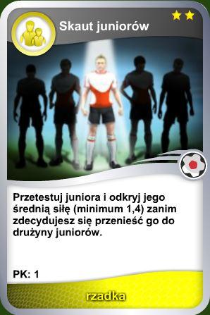 Karta Skaut juniorów - rzadka